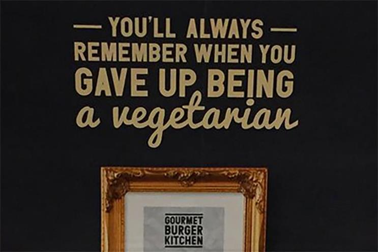 The buzz: Gourmet Burger Kitchen offends vegetarians