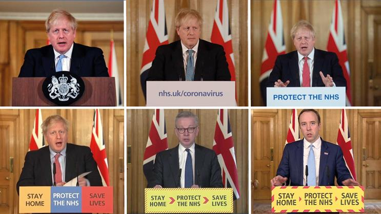 Govt: key message had been 'Stay home. Protect the NHS. Save lives'