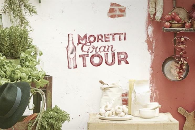 Birra Moretti's Gran Tour will travel to Edinburgh, London and Leeds