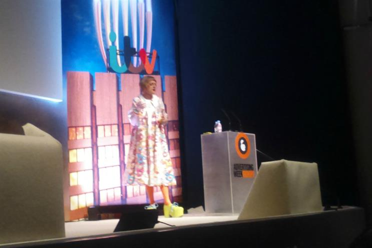 Grayson Perry: takes the stage at Ad Week Europe