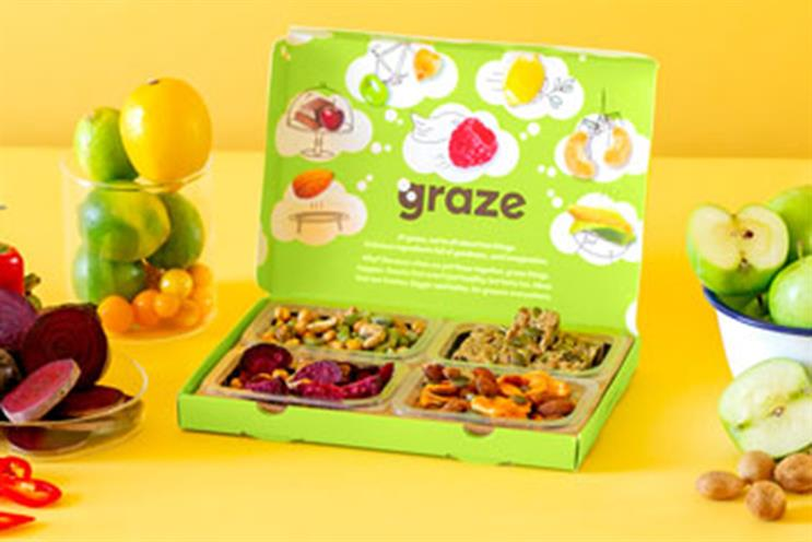 Unilever makes Graze its fourth acquisition in three months