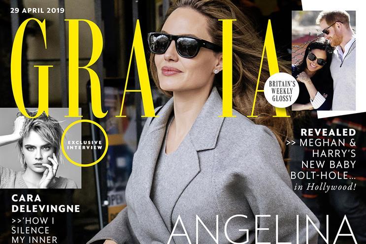 Grazia: Bauer brand