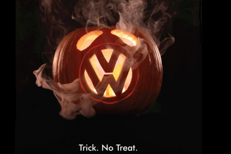 Greenpeace attacked VW following the emissions scandal