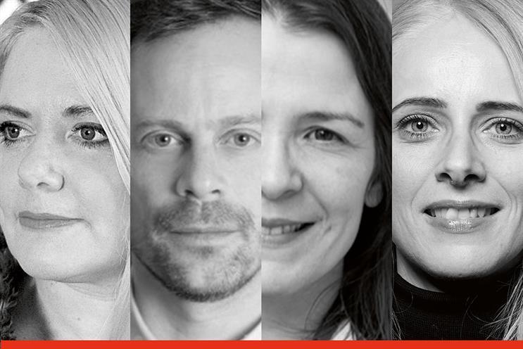 Grey London leadership team (L to R): Jordan Bambach, Campopiano, Chicourel, King