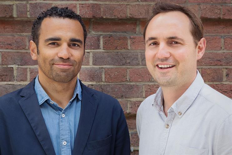 Wayne Brown (left) and Matt Tanter