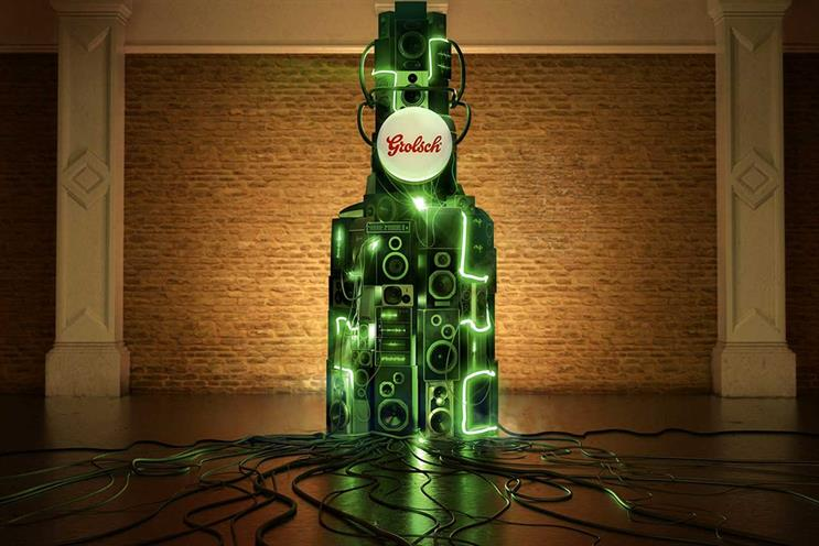 Grolsch: previously worked with BMB, Karmarama, Leith and VCCP on ads
