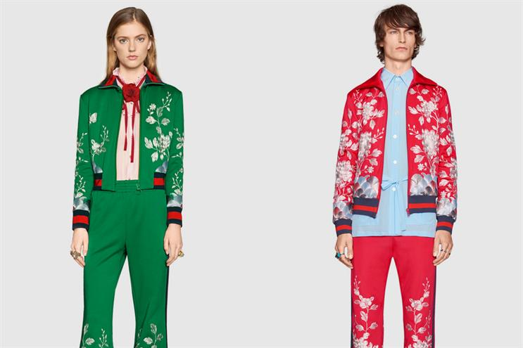 Gucci's men's and women's catwalk collections have been moving closer together stylistically