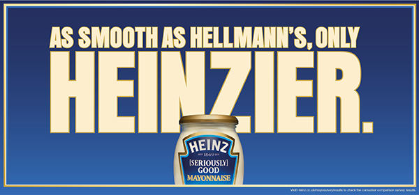 Heinz takes the gloves off in mayo battle with Unilever's Hellmann's
