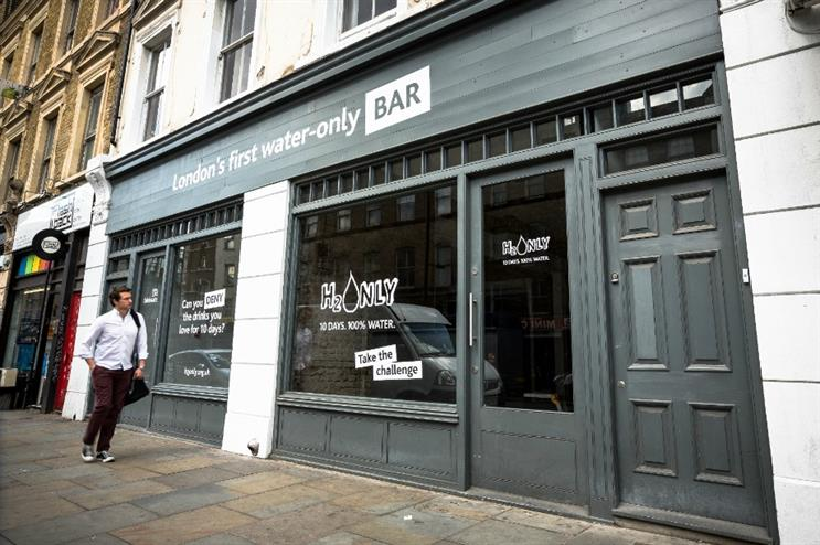H2Only Bar will be open for one day on Friday (29 May)