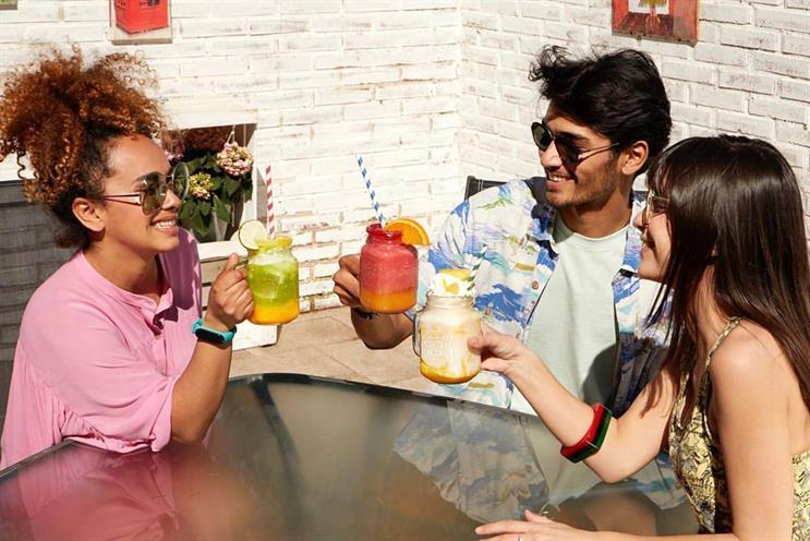 Häagen-Dazs: Lime Mojito Sorbet and Piña Colada ice cream infused cocktails