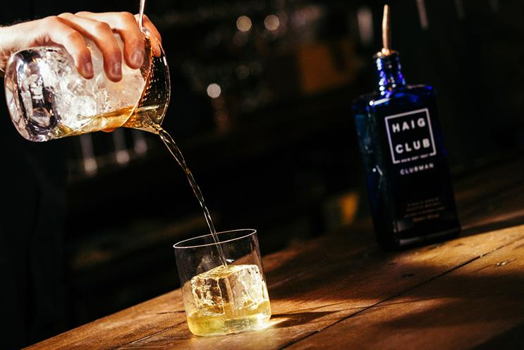 Haig Club: complimentary hot toddy for guests