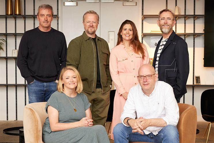 Harbour: the agency now has six partners (Top row: Paul Hammersley, Mick Mahoney, Marie-Louise Robinson, Grant Parker.  Bottom row: Kim Walker, Kevin Chesters)