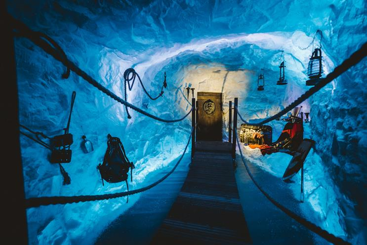 Game of Thrones: ice cave experience
