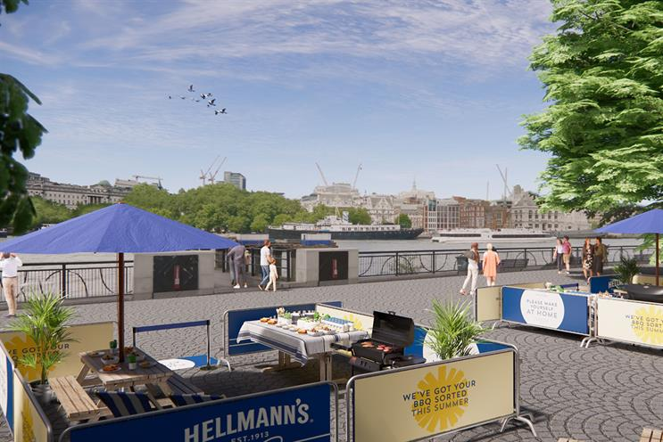 Hellmann's: a selection of food and condiments will be provided