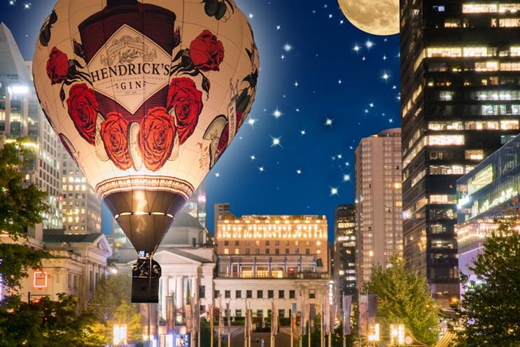Hendrick's Gin: part of Vancouver festival