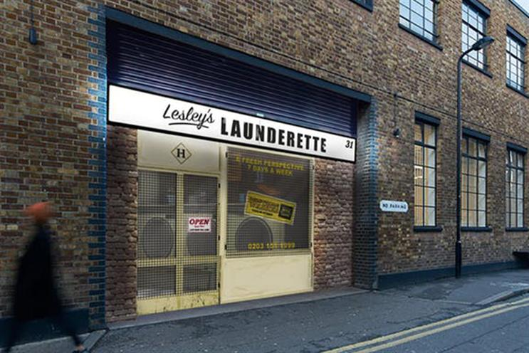Hendricks Gin: launderette experience will last 45 minutes
