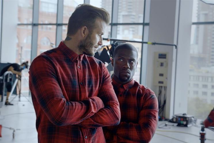 H&M: Adam & Eve/DDB works on the David Beckham range