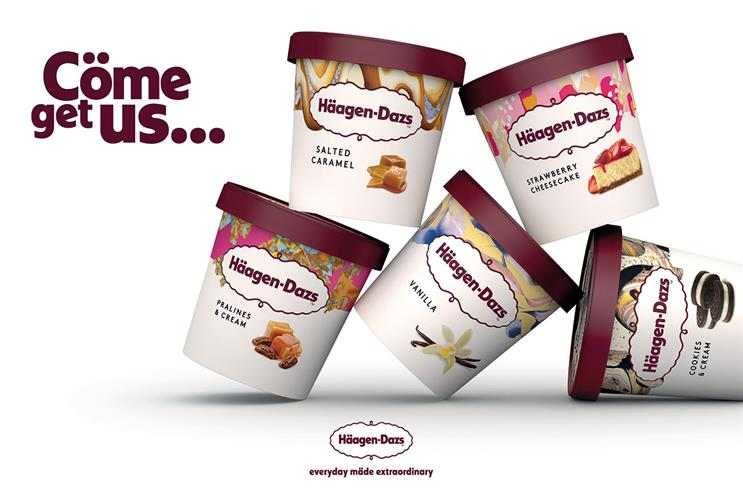 Häagen-Dazs: new packaging