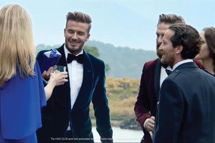 Haig Club: A&E/DDB launched the Diageo Scotch brand