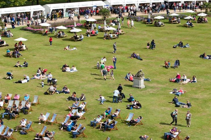 BBC Good Food Festival takes place at Hampton Court Palace