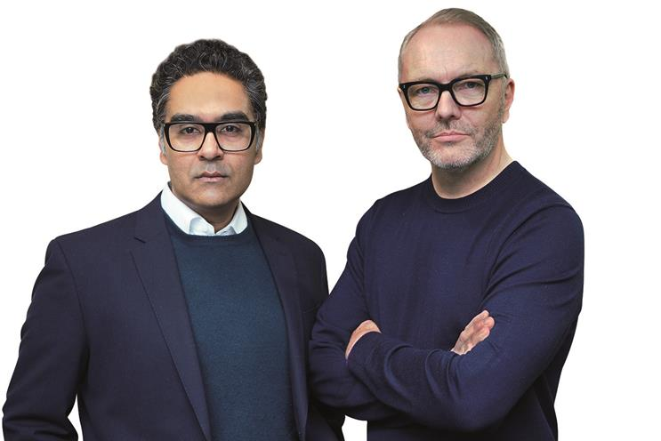 (l-r) Harjot Singh, chief strategy officer and Jon Carney, chief digital officer, McCann Worldgroup EMEA