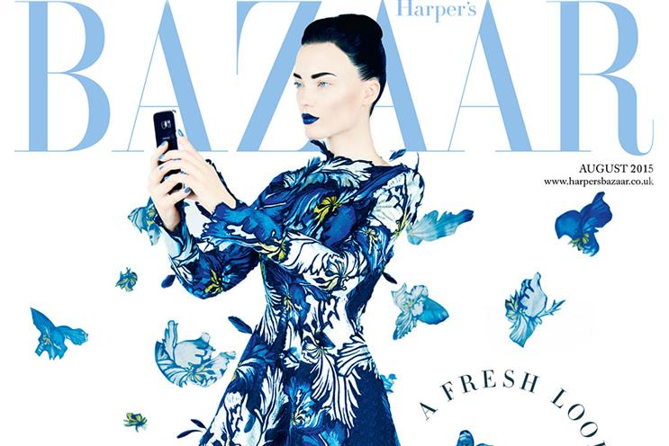 Harper's Bazaar: August issue features Samsung branded content