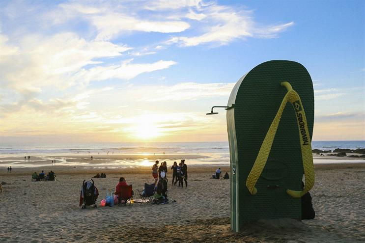 Havaianas targets festival-goers with Boardmasters activation