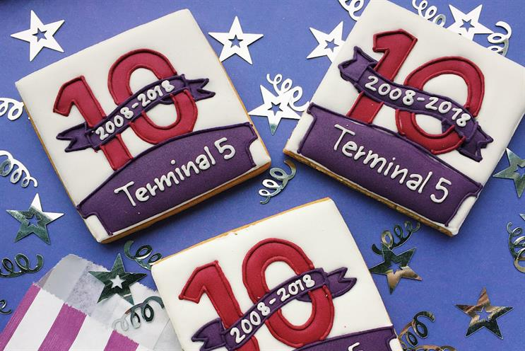 Heathrow builds Lego birthday card for Terminal 5 anniversary celebration