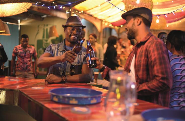 A campaign for Heineken's Primus brand showed people enjoying beer together and coming up with business ideas.