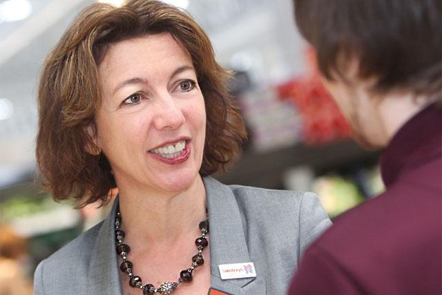 Helen Buck: named business development director at Sainsbury's