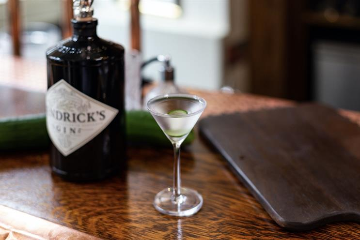 Hendrick's creates martini pop-up bar with drinks inspired by different countries