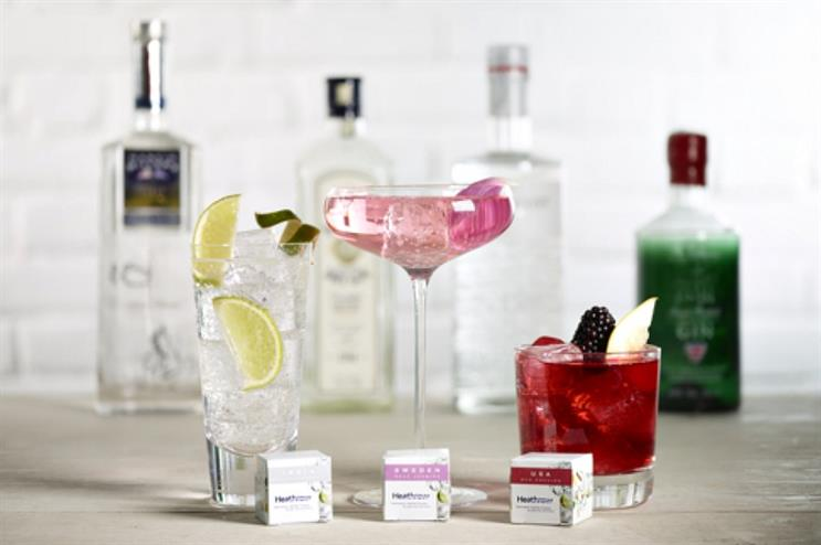 Heathrow launches gin and tonic T-bags
