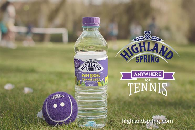 Highland Spring: bottled water now as indispensable as your keys, wallet and phone