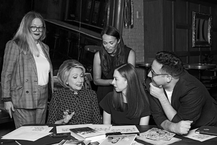 Clintons: working with Stylist team (images by Pamela Hanson for Stylist)
