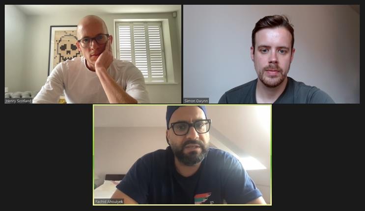 Homeground: creative leaders Scotland and Ahouiyek spoke to Campaign's Simon Gwynn