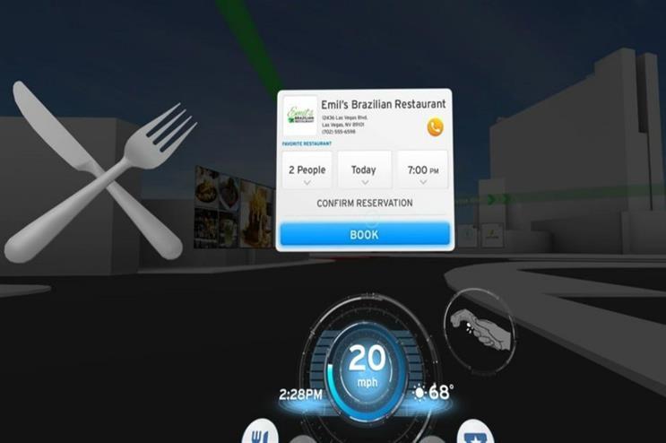 Honda: VR driving experience at CES 2017