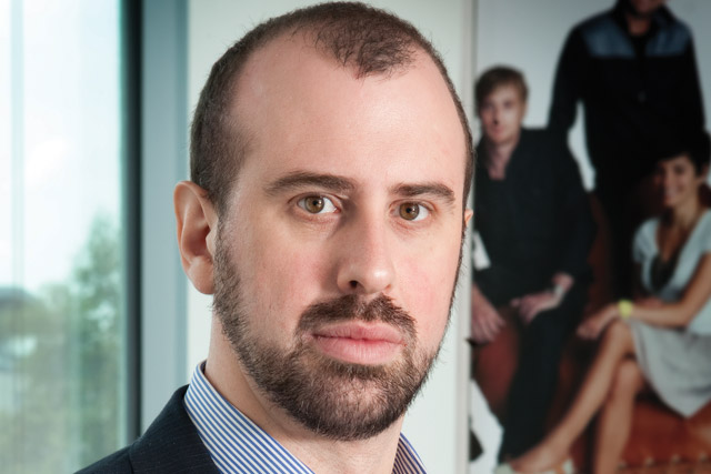 Matthew Hook: the managing director of Carat (photo: Colin Stout)