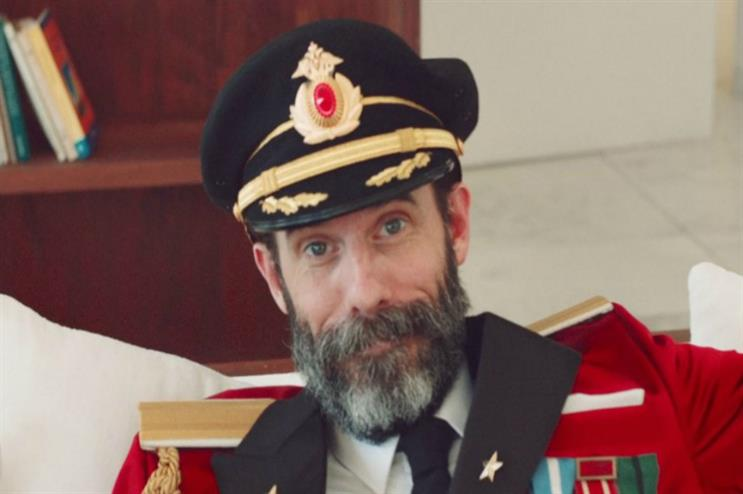 Hotels.com's Captain Obvious