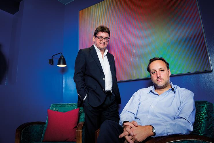 The Groucho Club: Hobbs (right) planned management buyout of the club with support from Hurrell