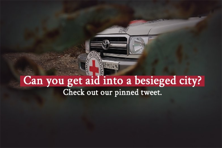 ICRC: using Twitter for an interactive storytelling initiative