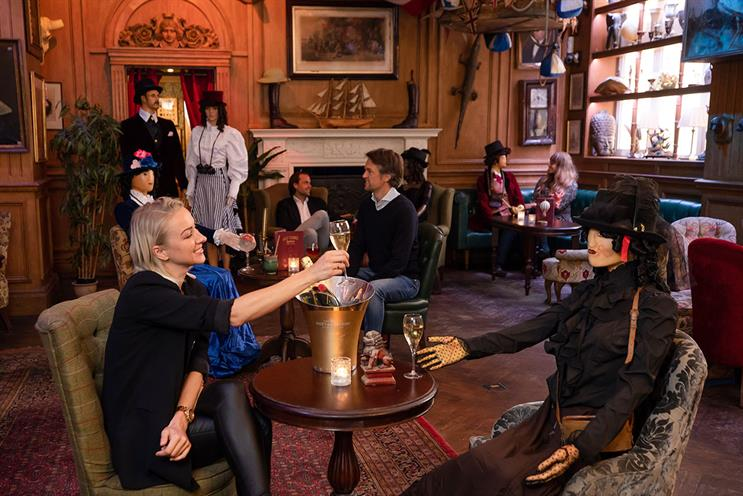 Mr Fogg's: plans to use mannequins for seats that need to remain unoccupied