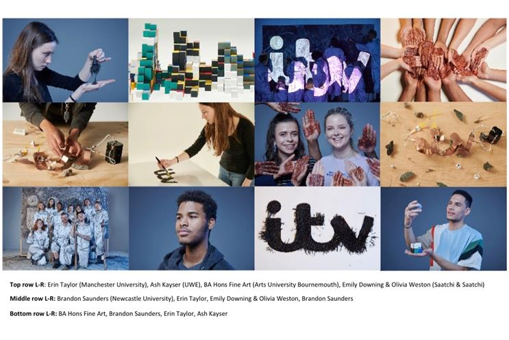 ITV: idents created by art students