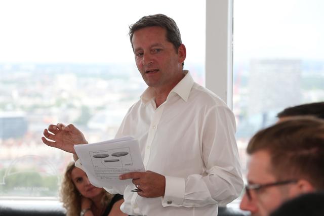 IPA president Ian Priest