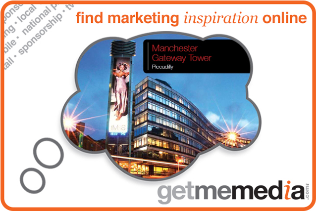 Advertise on the LED Tower at Manchester's Piccadilly Gateway