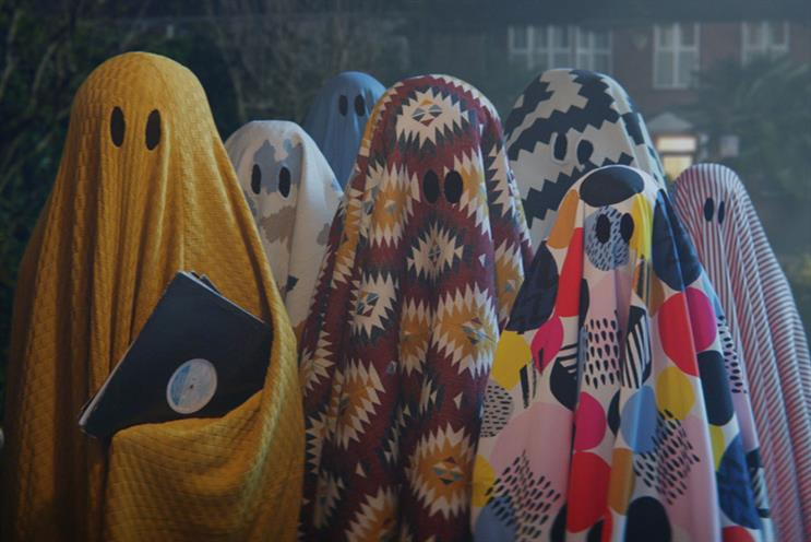 Ikea's colourful ghosts liven up a dull house party