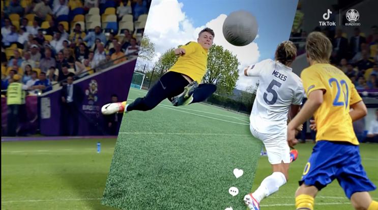 TikTok: brand is a sponsor of Uefa Euro 2020