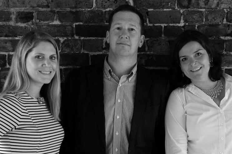 Infrared's senior management team: Natasha Davidson, Stephen Hall and Vivienne Brown