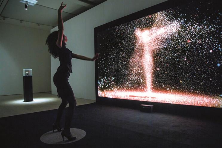 Imagination created the Rolls-Royce experiential exhibition at the Saatchi Gallery, London