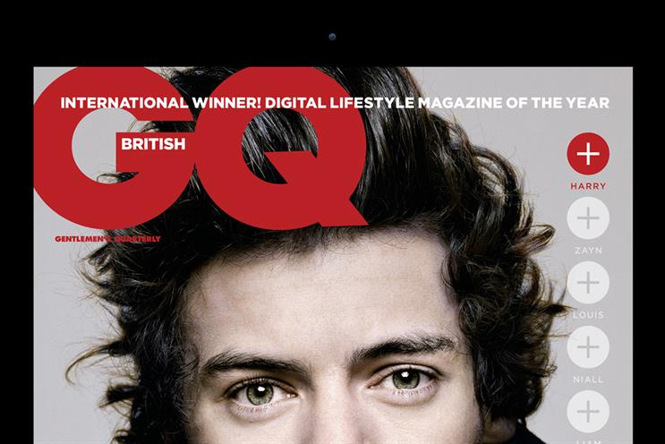 GQ: the Condé Nast title had the second-highest digital circulation behind Total Film