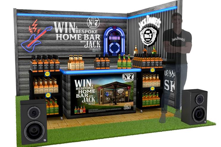Jack Daniel's: Bar will be tailored to winners' homes